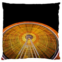 Abstract Blur Bright Circular Large Flano Cushion Case (two Sides)