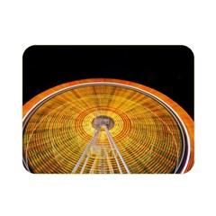Abstract Blur Bright Circular Double Sided Flano Blanket (mini)