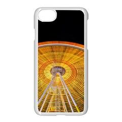 Abstract Blur Bright Circular Apple Iphone 7 Seamless Case (white)