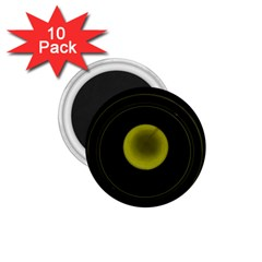 Abstract Futuristic Lights Dream 1 75  Magnets (10 Pack)
