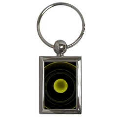 Abstract Futuristic Lights Dream Key Chains (rectangle)