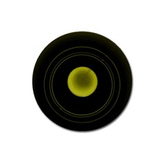 Abstract Futuristic Lights Dream Magnet 3  (round)