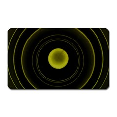 Abstract Futuristic Lights Dream Magnet (Rectangular)