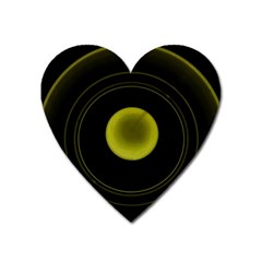Abstract Futuristic Lights Dream Heart Magnet
