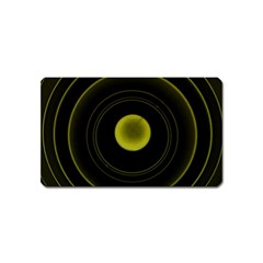 Abstract Futuristic Lights Dream Magnet (name Card)