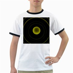 Abstract Futuristic Lights Dream Ringer T Shirts