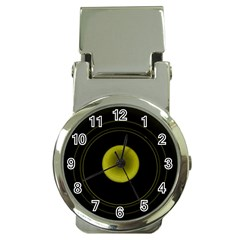 Abstract Futuristic Lights Dream Money Clip Watches