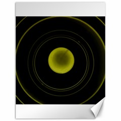 Abstract Futuristic Lights Dream Canvas 12  X 16
