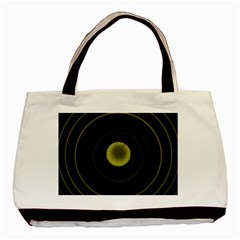 Abstract Futuristic Lights Dream Basic Tote Bag (two Sides)