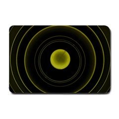 Abstract Futuristic Lights Dream Small Doormat