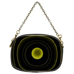 Abstract Futuristic Lights Dream Chain Purses (one Side)