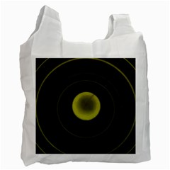 Abstract Futuristic Lights Dream Recycle Bag (one Side)