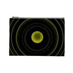 Abstract Futuristic Lights Dream Cosmetic Bag (large)