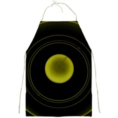 Abstract Futuristic Lights Dream Full Print Aprons