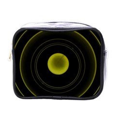Abstract Futuristic Lights Dream Mini Toiletries Bags