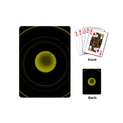 Abstract Futuristic Lights Dream Playing Cards (mini)