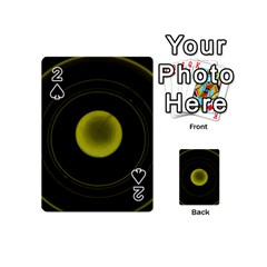 Abstract Futuristic Lights Dream Playing Cards 54 (mini)