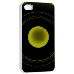 Abstract Futuristic Lights Dream Apple Iphone 4/4s Seamless Case (white)