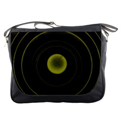 Abstract Futuristic Lights Dream Messenger Bags