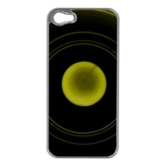 Abstract Futuristic Lights Dream Apple Iphone 5 Case (silver)