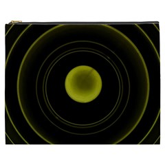 Abstract Futuristic Lights Dream Cosmetic Bag (xxxl)