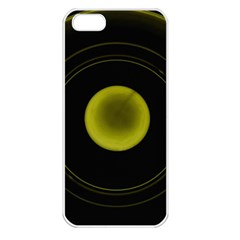 Abstract Futuristic Lights Dream Apple Iphone 5 Seamless Case (white)