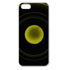 Abstract Futuristic Lights Dream Apple Seamless Iphone 5 Case (clear)