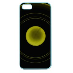 Abstract Futuristic Lights Dream Apple Seamless Iphone 5 Case (color)
