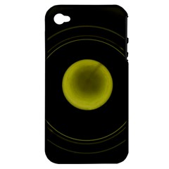 Abstract Futuristic Lights Dream Apple Iphone 4/4s Hardshell Case (pc+silicone)