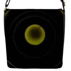 Abstract Futuristic Lights Dream Flap Messenger Bag (s)