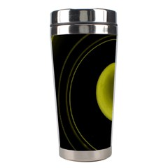 Abstract Futuristic Lights Dream Stainless Steel Travel Tumblers