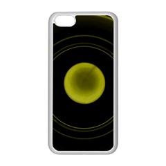 Abstract Futuristic Lights Dream Apple Iphone 5c Seamless Case (white)
