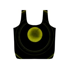 Abstract Futuristic Lights Dream Full Print Recycle Bags (s)