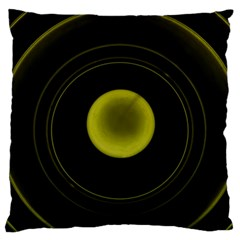 Abstract Futuristic Lights Dream Large Flano Cushion Case (two Sides)