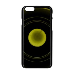 Abstract Futuristic Lights Dream Apple Iphone 6/6s Black Enamel Case