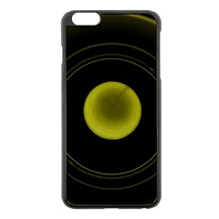 Abstract Futuristic Lights Dream Apple Iphone 6 Plus/6s Plus Black Enamel Case