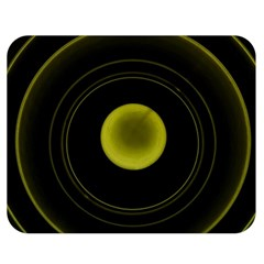 Abstract Futuristic Lights Dream Double Sided Flano Blanket (medium)