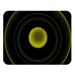 Abstract Futuristic Lights Dream Double Sided Flano Blanket (large)