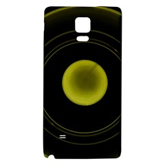 Abstract Futuristic Lights Dream Galaxy Note 4 Back Case