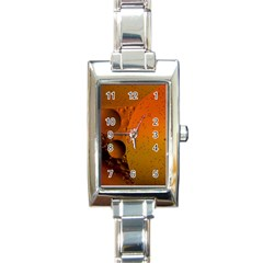 Abstraction Color Closeup The Rays Rectangle Italian Charm Watch