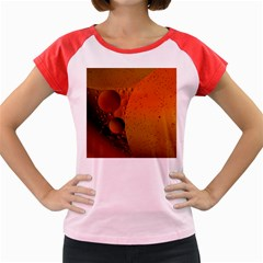Abstraction Color Closeup The Rays Women s Cap Sleeve T Shirt
