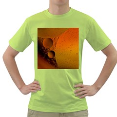 Abstraction Color Closeup The Rays Green T Shirt