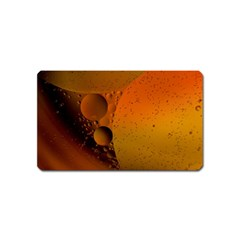 Abstraction Color Closeup The Rays Magnet (name Card)