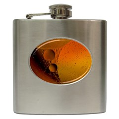 Abstraction Color Closeup The Rays Hip Flask (6 Oz)