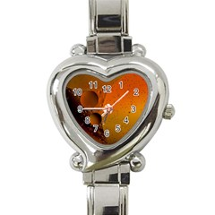 Abstraction Color Closeup The Rays Heart Italian Charm Watch