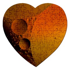 Abstraction Color Closeup The Rays Jigsaw Puzzle (heart)