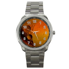 Abstraction Color Closeup The Rays Sport Metal Watch