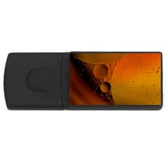 Abstraction Color Closeup The Rays Usb Flash Drive Rectangular (4 Gb)