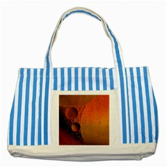 Abstraction Color Closeup The Rays Striped Blue Tote Bag