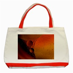 Abstraction Color Closeup The Rays Classic Tote Bag (Red)
